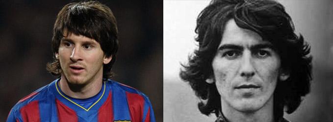 Looks de futbolistas - Beatle perdido