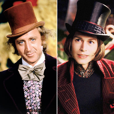 Willy Wonka - Remakes de películas
