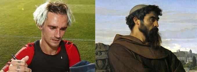 Looks de futbolistas - El cura