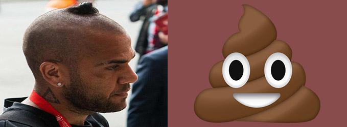 Looks de futbolistas - El emoji