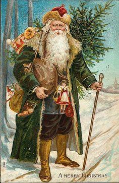 Distintas versiones de Santa Claus