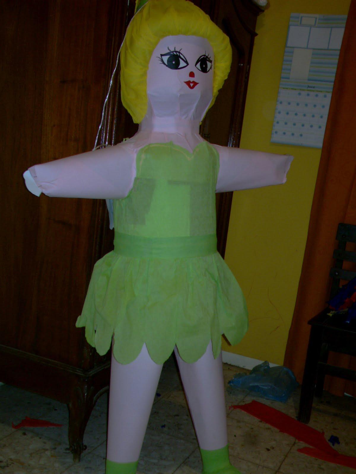 como hacer piñata de minnie mouse