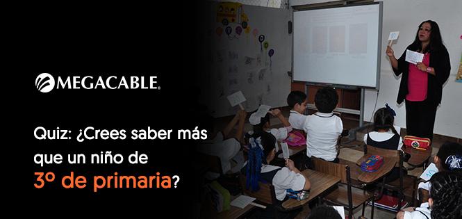 Quiz: Back to school: ¿Crees saber más que un niño de 3º de primaria?