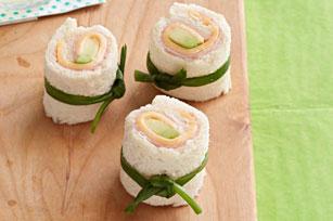 Recetas para tus hijos - sushi sandwitch