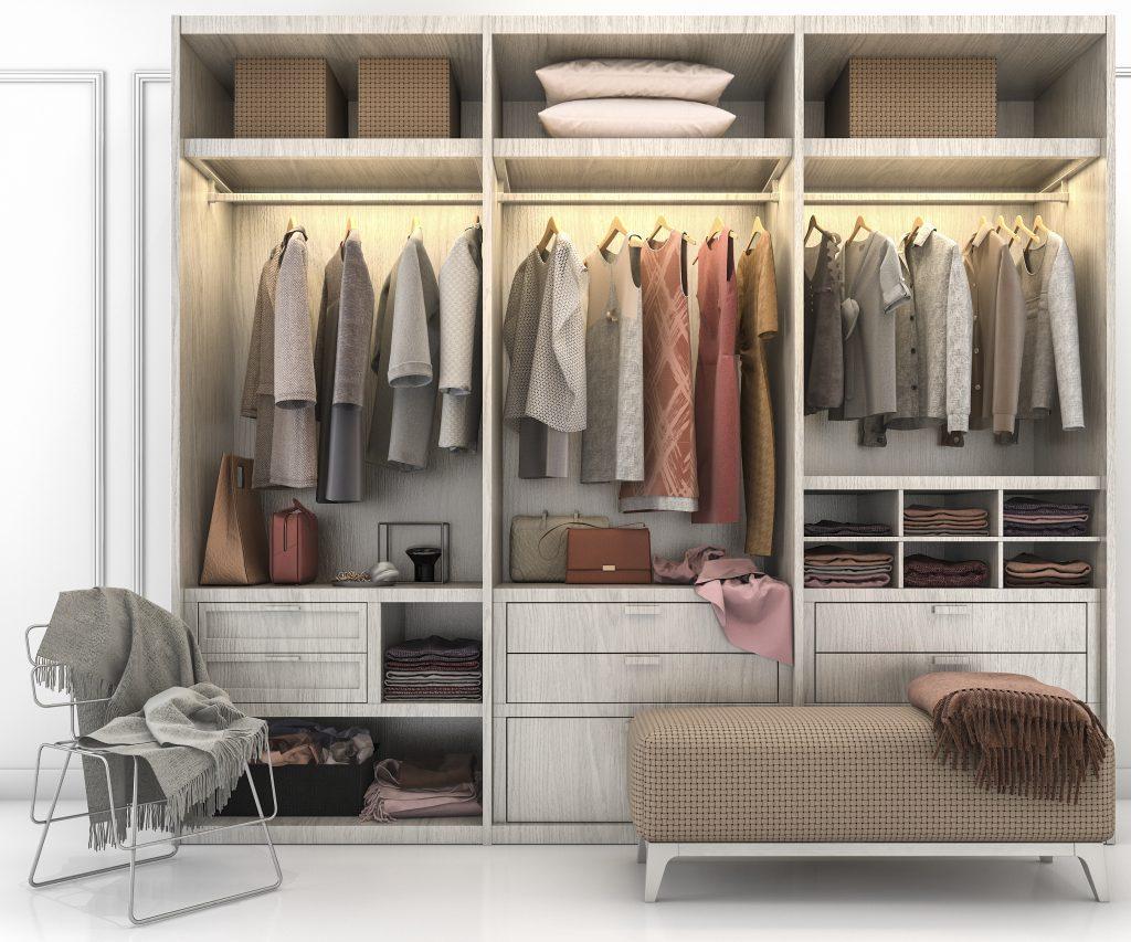 Organizar tu closet